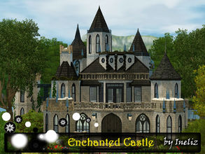 Sims 3 — Enchanted Castle by Ineliz — Every great witch or wizard want to live in a big castle. They need to be separated