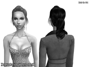 Sims 2 — Hair Re 001-Xensuda\'s hair set-7 colors -mesh by Well_sims — Mesh for you.