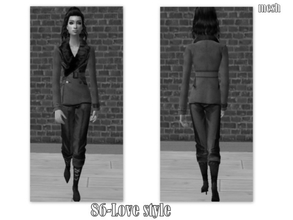 Sims 2 — Hair 002-Gisele\'s hair set-5 colors - mesh by Well_sims — Mesh for you.