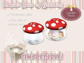 Sims 3 — Garden Picnic - Mushroom Bowl by SIMcredible! — It's SIMcredible! Small box of goodies #3 - Your lovely source