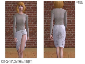 Sims 2 — 88-Starlight Moonlight - outfit by Well_sims — Beautiful couture outfit for your sim. I hope like it. :) -Single