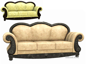 Sims 3 — Livingroom French Quarter - Sofa by ShinoKCR — Fixed, new S3package uploaded on July 24 2017. Pls remove the