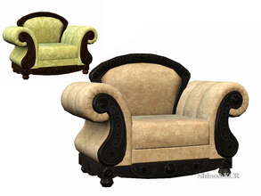 Sims 3 — Livingroom French Quarter - Armchair by ShinoKCR —