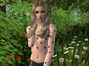 Sims 2 — Agneshka by sirok2 — Cute girl with nice name for you