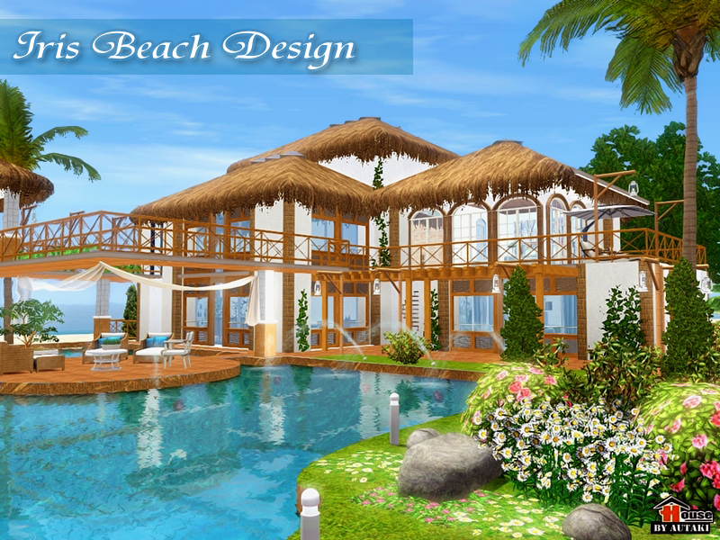 Autaki 39 s iris beach design for Beach house 3 free download