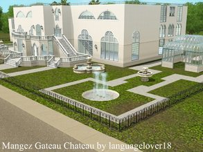 Sims 3 — Mangez Gateau Chateau (Unfurnished) by languagelover182 — The customizable Venetian palace of your dreams is