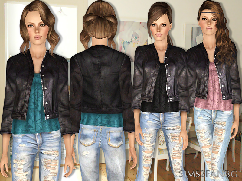Sims 3 black dress not optional opi