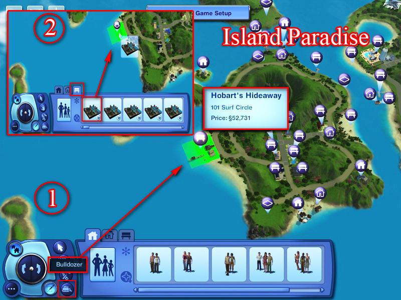 Sims 3 Island Paradise Map