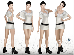 Sims 3 — Eva Posepack by Ms_Blue — 4 new model poses inspired by my new Sim Eva. Pose list compatible. Hope you like :D