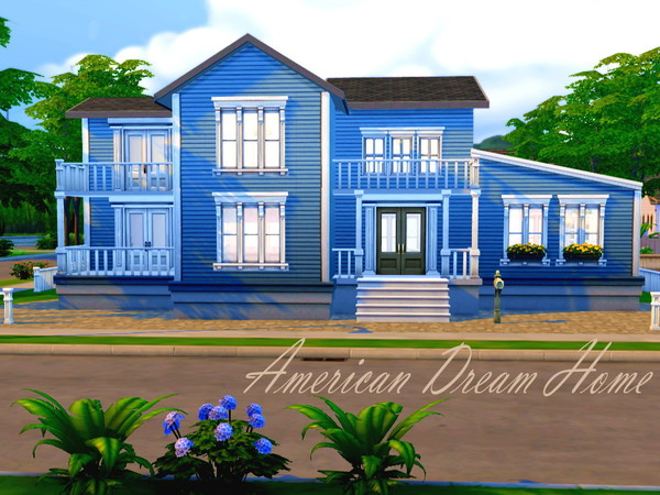 Hazelsims 39 American Dream Home