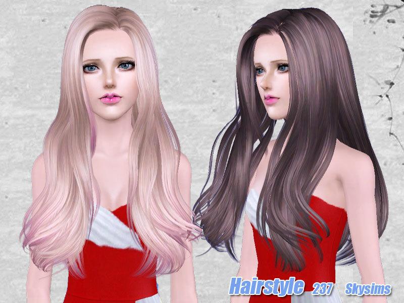 Skysims Hair 237 set