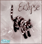 Sims 1 — Eclipse Cat by BloodMaple —