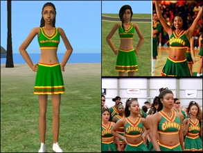 Sims 2 — Bring It On Clovers by Cheer4Sims2 — Bring It On Clovers Cheer Uniform