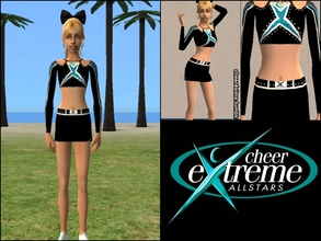Sims 2 — Cheer Extreme Coed Elite Top by Cheer4Sims2 —