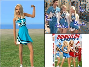 Sims 2 — Bring It On Jets by Cheer4Sims2 — Bring It On Jets