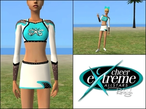 Sims 2 — Cheer Extreme SXS Top by Cheer4Sims2 —
