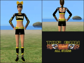 Sims 2 — Top Gun Large Coed Top by Cheer4Sims2 —