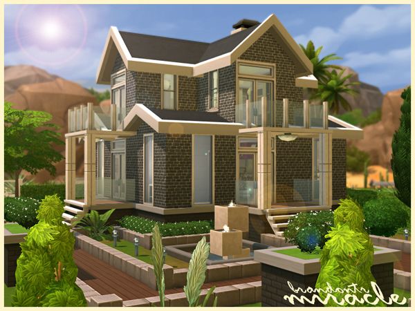 Brandontr 39 s miracle 39 fully furnished 39 for Modern house 5x5