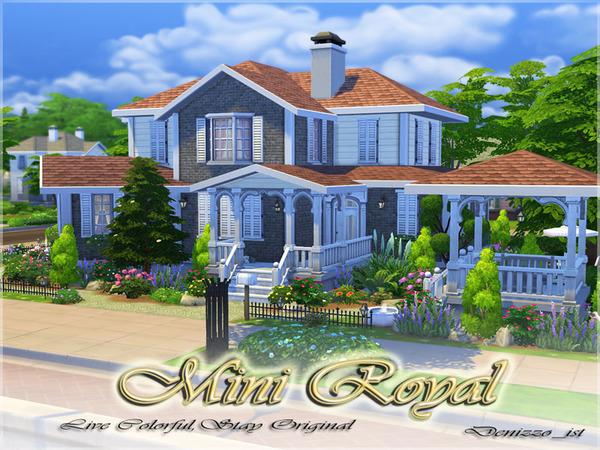 Casa moderna mini royal the sims 4 pirralho do game for Casa moderna los sims 4