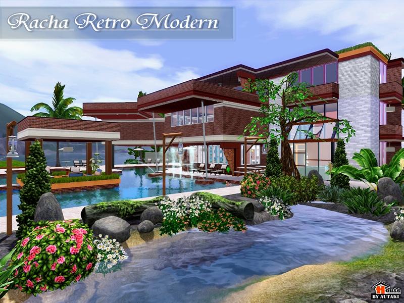 Autaki 39 s racha retro modern for Beach house 3 free download