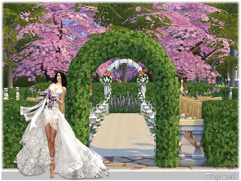 придомовых площадках где находится арка для свадьбы в симс 3 электронной