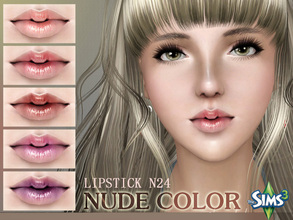 Sims 3 — S-Club_ts3-makeup-lipstick_N24 by S-Club — Hey everyone! These are lipsticks from N22 to N27. Hope you like it,