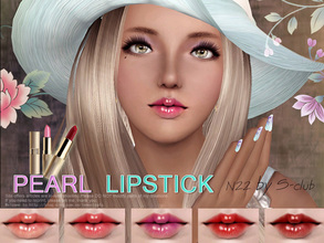 Sims 3 — S-Club_ts3-makeup-lipstick_N22 by S-Club — Hey everyone! These are lipsticks from N22 to N27. Hope you like it,