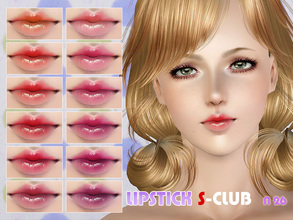 Sims 3 — S-Club_ts3-makeup-lipstick_N26 by S-Club — Hey everyone! These are lipsticks from N22 to N27. Hope you like it,