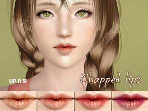 Sims 3 — S-Club_ts3-makeup-lipstick_N31 by S-Club — Hey everyone! These are lipsticks from N28 to N31 of our collection.