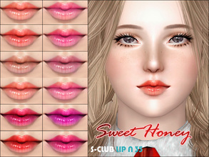 Sims 3 — S_Club_ts3_Lip_N35 by S-Club — Hey everyone! These are lipsticks from N32 to N37 of our collection. Hope you