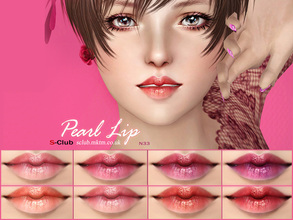 Sims 3 — S_Club_ts3_Lip_N33 by S-Club — Hey everyone! These are lipsticks from N32 to N37 of our collection. Hope you