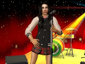 Sims 2 — Beatriche by sirok2 — Creative and active young student for you