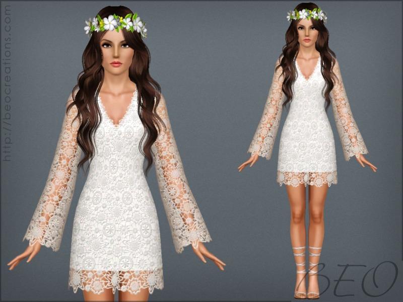 Beo S Bohemian Wedding Dress