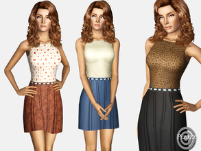 Sims 3 — Basic Casual by pizazz — An easy wear dress that's great for picnics and casual walks on the beach. Keeping a