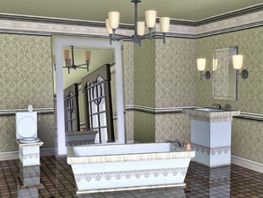 Sims 3 — Porcelain Bathroom by Flovv — Are you searching for a luxurious, comfortable bathroom from the highest quality