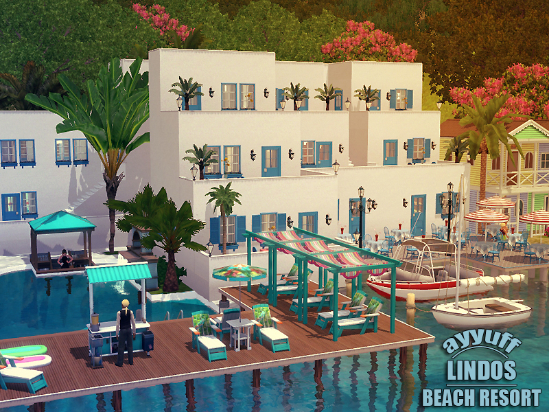 Ayyuff 39 s lindos beach resort for Beach house 3 free download