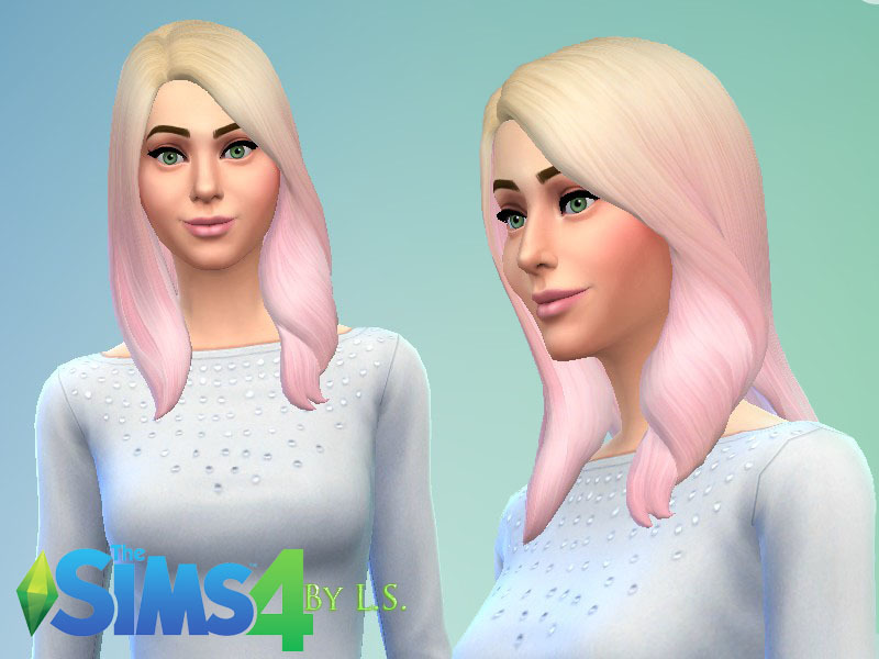 Ladyshadows Blonde And Pink Ombre Hair