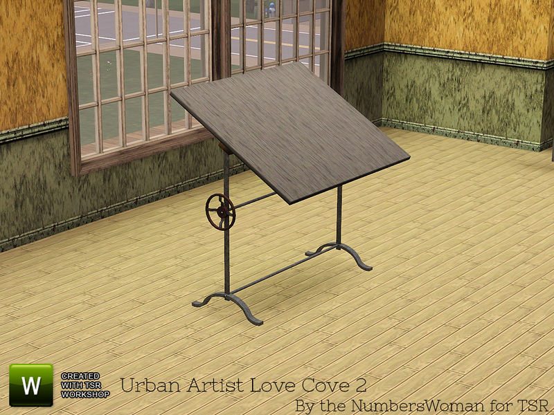 Exceptionnel Urban Loft Artist Cove 2 Drafting Table