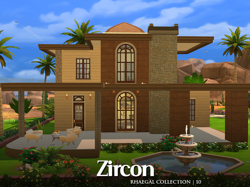 Casa moderna grande e espa osa the sims 4 pirralho do game for Casas grandes modernas