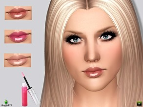 Sims 3 — Super Stay Shine Gloss by Margeh-75 — -a beautiful glossy lipstick that stays put on your sims lips -3 recolour