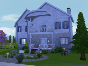Sims 4 — Willow Wind by Rennara — This older home has been upgraded with new and yet complimented by the old of