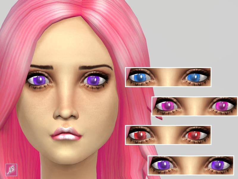 Alexandra Sine S Bright Anime Eyes Non Default