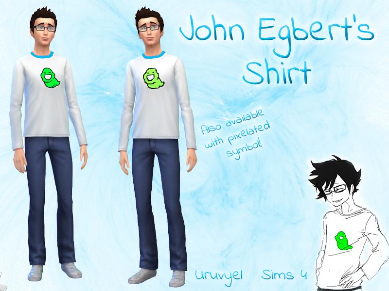 Uruvyels John Egberts Shirt