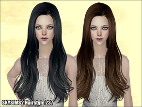 Sims 2 — Skysims Hair  237 by Skysims — Skysims Hair 237