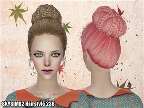 Sims 2 — Skysims Hair  238 by Skysims — Skysims Hair 238