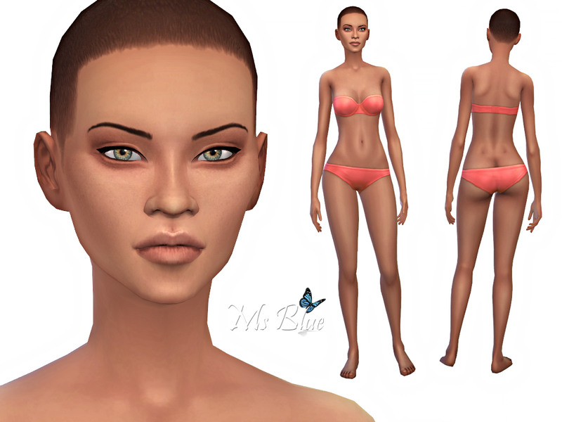 Sims 2 female nude skin picture 99