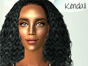 Sims 2 — Kendall Earle by renegaderunway — Kendall is a brilliant philosopher of Guyanese descent. She is fluent in 3