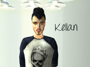 Sims 2 — Kellan Diaz by renegaderunway — This biracial sim is both Venezuelan and Lebanese. He has a master\'s in