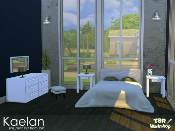 Sim Man123 S Kaelan Bedroom