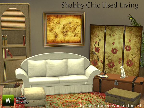 Thenumberswoman 39 S Shabby Chic Used Living Room